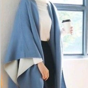 UNIQLO | BLUE & CREAM STOLE